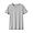 LIGHT GRAY(인도 면 저지 · 크루넥 반소매 티셔츠)
