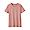 PINK(인도 면 저지 · 크루넥 반소매 티셔츠)