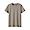 KHAKI BEIGE(인도 면 저지 · 크루넥 반소매 티셔츠)