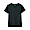 BLACK(땀에 강한 후라이스 · 크루넥 반소매 티셔츠)