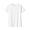 WHITE(땀에 강한 후라이스 · 크루넥 반소매 티셔츠)