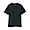 BLACK(인도 면 저지 · 크루넥 반소매 티셔츠)