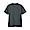 CHARCOAL GRAY(인도 면 저지 · 크루넥 반소매 티셔츠)