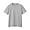 GRAY(인도 면 저지 · 크루넥 반소매 티셔츠)