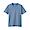 LIGHT BLUE(인도 면 저지 · 크루넥 반소매 티셔츠)