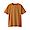 LIGHT ORANGE(인도 면 저지 · 크루넥 반소매 티셔츠)
