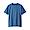 SMOKY BLUE(인도 면 저지 · 크루넥 반소매 티셔츠)