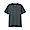 CHARCOAL GRAY(인도 면 저지 · V넥 반소매 티셔츠)