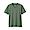 KHAKI GREEN(인도 면 저지 · V넥 반소매 티셔츠)