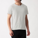 슬러브 저지 · 크루넥 반소매 티셔츠