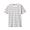 MUSTARD*BORDER(인도 면 저지 · 보더 반소매 티셔츠)