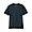 BLACKxCHARCOL BORDER(인도 면 저지 · 보더 반소매 티셔츠)