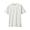 OFF WHITExBORDER(슬러브 저지 · 보더 반소매 티셔츠)