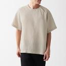 프렌치 리넨 워싱 · 풀오버 반소매 셔츠