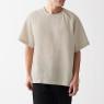 프렌치 리넨 워싱 · 풀오버 반소매 셔츠 상품이미지
