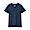 DARK NAVY(인도 면 저지 · V넥 반소매 티셔츠)