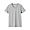 LIGHT GRAY(인도 면 저지 · V넥 반소매 티셔츠)