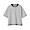 BLACKxCHARCOL BORDER(태번수 저지 · 크루넥 와이드 티셔츠)