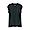BLACK(인도 면 저지 · 슬리브리스 티셔츠)