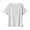 LIGHT BEIGE*PATTERN(태번수 저지 · 보트넥 와이드 티셔츠)