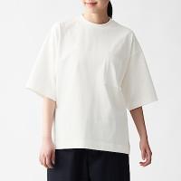 저지 · 크루넥 드롭숄더 티셔츠