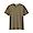 KHAKI(슬러브 저지 · V넥 반소매 티셔츠)