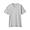 LIGHT GRAY(슬러브 저지 · V넥 반소매 티셔츠)