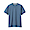 SMOKY BLUE(태번수 저지 · 가젯 반소매 티셔츠)