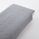 얇은 이불 · D· 네이비 스트라이프 · 면 서커