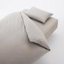 이불 커버 세트 · S · 라이트브라운 체크 · 침대용·워싱면