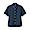 DARK NAVY(면 워싱 옥스포드 · 버튼다운 반소매 셔츠)