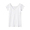 WHITE(산뜻한 면 · 땀 흡수 패드 프렌치 슬리브)