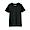 BLACK(슬러브 저지 · 크루넥 반소매 티셔츠)