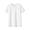 WHITE(슬러브 저지 · 크루넥 반소매 티셔츠)