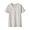 LIGHT SILVER GRAY(슬러브 저지 · 크루넥 반소매 티셔츠)