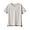 LIGHT SILVER GRAY(슬러브 저지 · V넥 반소매 티셔츠)