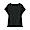 BLACK(슬러브 저지 · 프렌치 슬리브 티셔츠)