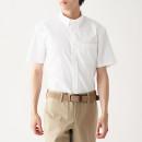 신강면 스트레치 형태안정 · 버튼다운 반소매 셔츠