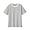 BLACKxCHARCOL BORDER(태번수 저지 · 크루넥 반소매 티셔츠)