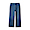 BLUE(스트레치 데님 · 와이드 팬츠)