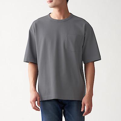 신강면 피케 · 반소매 티셔츠