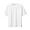 WHITE(신강면 피케 · 반소매 티셔츠)