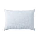 베개 커버 · 43×63 · 블루 스트라이프 · 면 서커