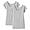 GRAY(인도 면 후라이스 · 프렌치 슬리브 티셔츠 2장세트)