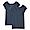 NAVY(인도 면 후라이스 · 프렌치 슬리브 티셔츠 2장세트)