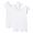 WHITE(인도 면 후라이스 · 프렌치 슬리브 티셔츠 2장세트)