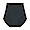 BLACK(봉제선이 없는 · 면 혼방 하이라이즈 쇼츠)