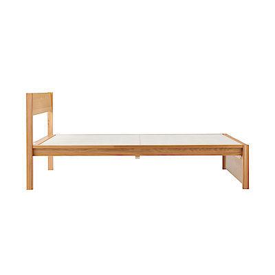 목제 침대 프레임ㆍDㆍ떡갈나무