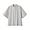 GRAY(면 혼방 스트레치 · 반소매 스탠드칼라 셔츠)