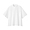 WHITE(면 혼방 스트레치 · 반소매 스탠드칼라 셔츠)